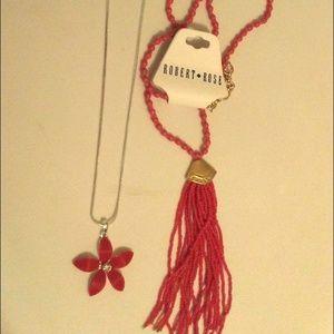 Robert Rose Red Necklace Bundle
